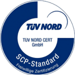 TÜV Nord Zetifizierung SCP